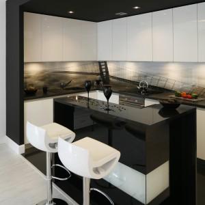 Biało Czarne Kuchnie Eleganckie I Nowoczesne Zobaczcie Pomysły