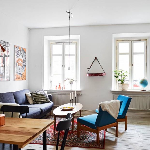 Aranżacja wnętrza w stylu skandynawskim