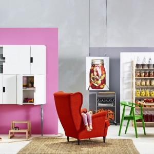 Fotel-uszak Strandmon marki IKEA. Fot. IKEA.