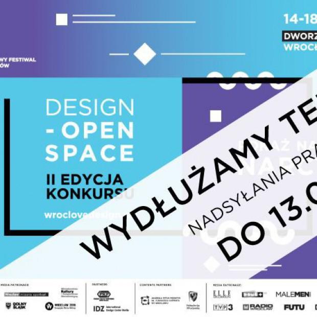 Przesunięcie terminu nadsyłania zgłoszeń na Konkurs Design-Open Space_Narcyzm