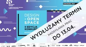 W ramach II MFDP Wroclove Design został ogłoszony konkurs dla projektantów Design-Open Space_NARCYZM. Termin nadsyłania prac przesunięto na 13.04.2014 r.