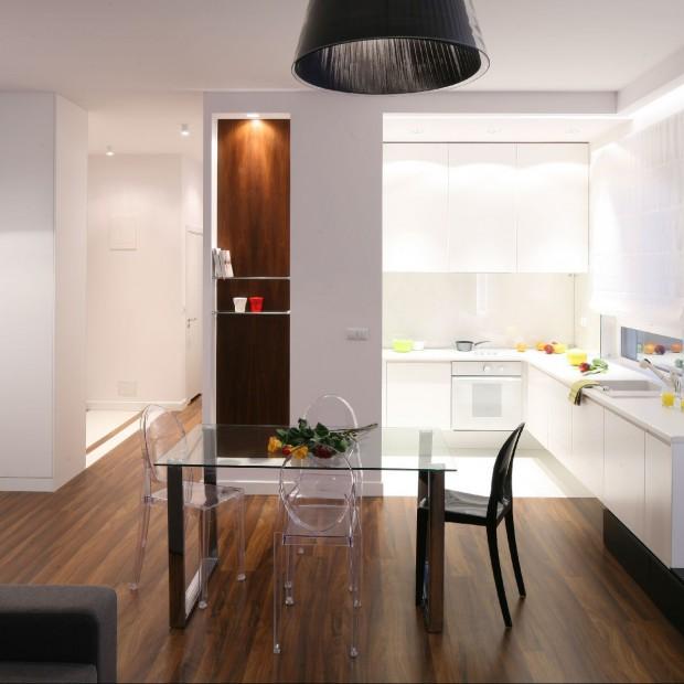 Małe mieszkanie: otwarta kuchnia się sprawdzi!