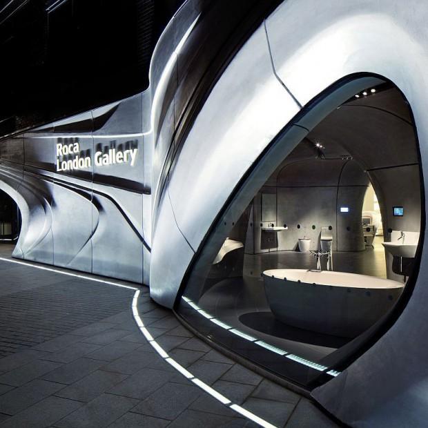 Twórcza siła wody. Roca London Gallery