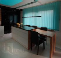 Mieszkanie po metamorfozie - kuchnia.