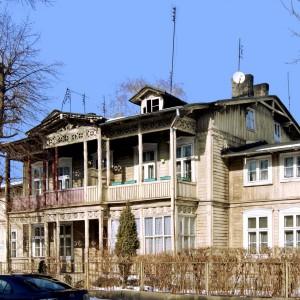 Ciechocinek drewniana willa. Fot. Ostrowiecnr1