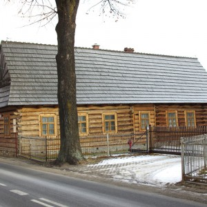 Jedyny zachowany w tak dużej skali na Podhalu, zespół historycznej zabudowy drewnianej objęty patronatem UNESCO. Chochołów. Fot. Zabytkowo