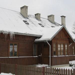 Świętokrzyska architektura drewniana. Fot. Panoramio