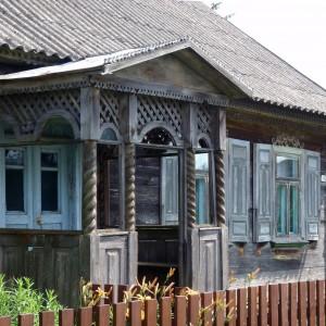 Trześcianka, dom mieszkalny. Źródło Wikipedia