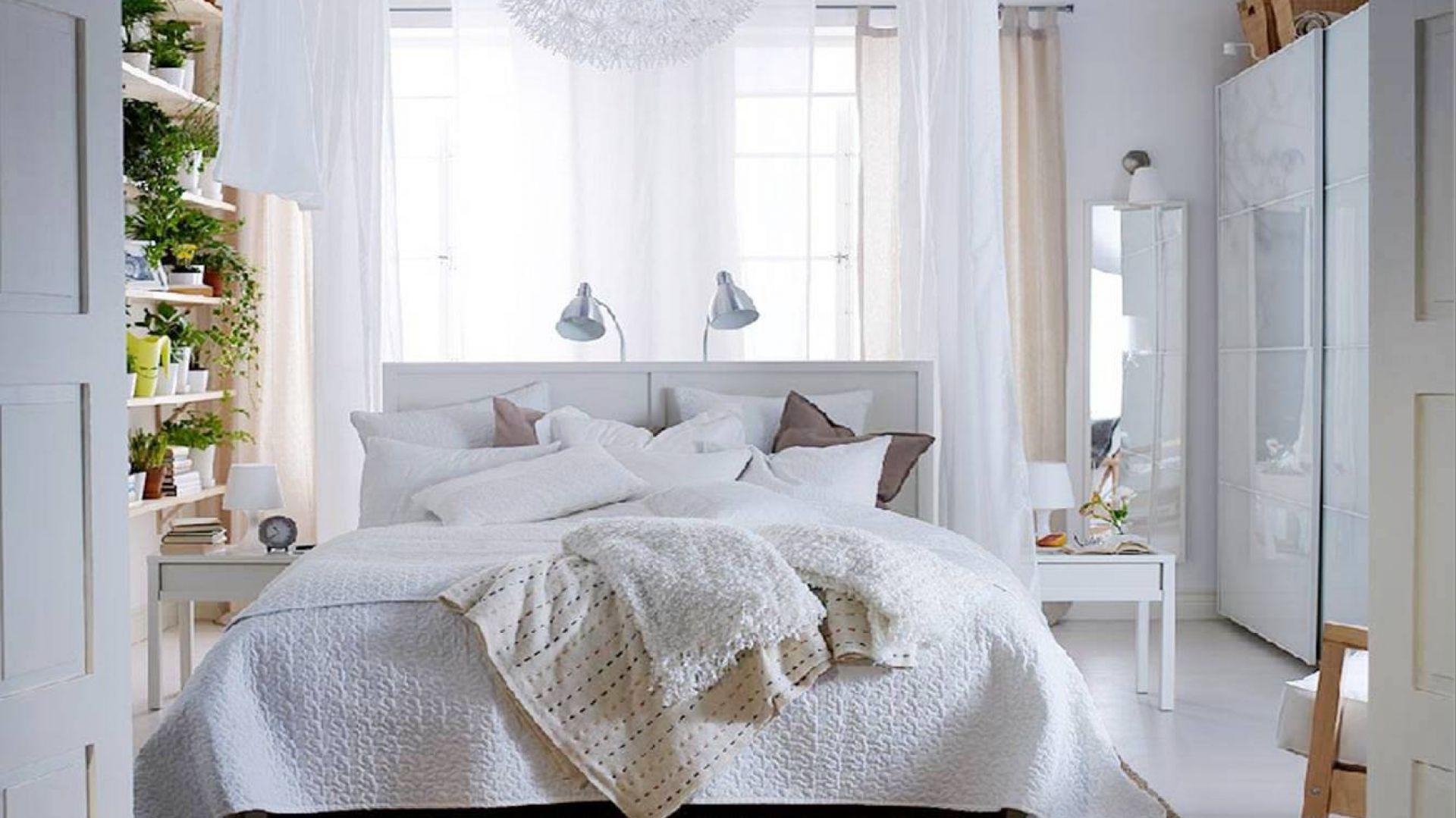 Fot.Ikea. | Biała sypialnia - 12 inspirujących aranżacji ...
