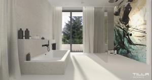 Salon kąpielowy.