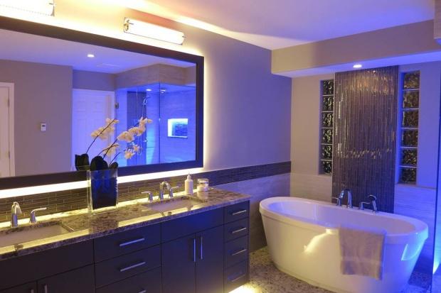 Wybieramy oświetlenie LED do łazienki