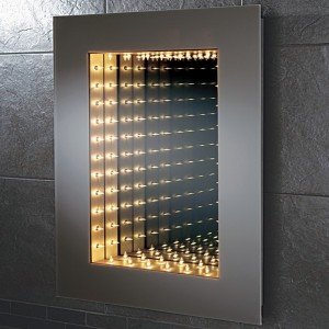 Lustro z efektem 3D. Fot. Islandbathrooms.
