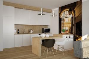 Mieszkanie Lisbon - kuchnia.