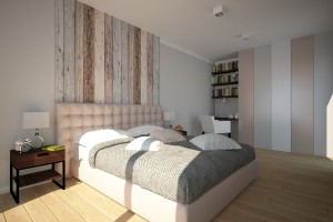 Mieszkanie Lisbon - sypialnia.