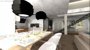 Nowoczesne wnętrze w Wyszkowie - kuchnia.