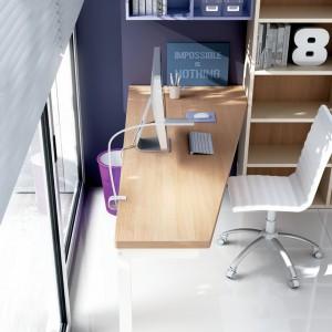 Dużą rolę w pokoju ucznia odgrywa biurko. Fot. Moretti Compact.