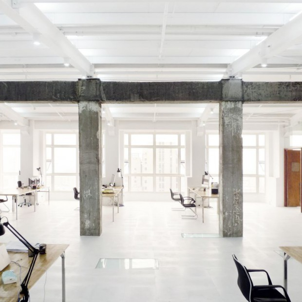 Odzyskać przestrzeń. Biuro LYCS Architecture
