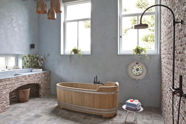 Klimatyczne i ponadczasowe. Z dala od zgiełku miasta i surowego minimalizmu. Nawiązują do klasyki i sprawdzonych tradycji. Zobacz galerię łazienek w stylu country.