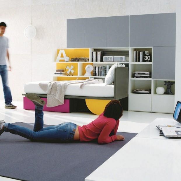 Nowoczesna przestrzeń dla nastolatki. Pomysł na pokój