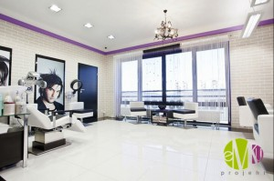 Manhattan - salon fryzjerski.