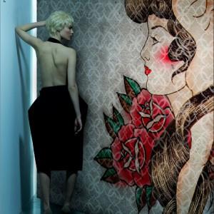 Projekt designera Gio Pagani - tapeta MyBody stworzona dla marki Wall&Deco. Fot. Wall&Deco.
