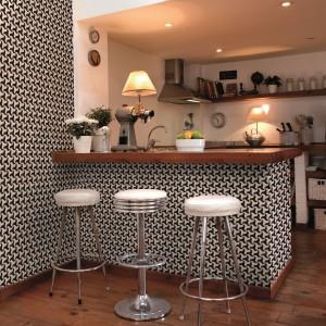 Biało czarne wzory z kolekcji taoet Madrid marki Coordonee. Fot. Coordonee.