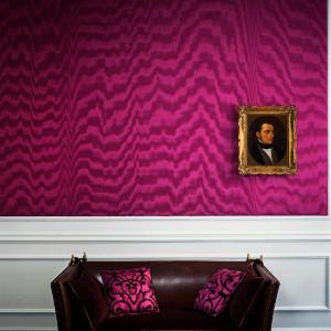Kolekcja tkanin na ścianę marki Dedar - efekt iluzji gwarantowany. Fot. Dedar/Square Space.