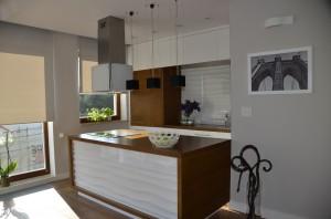 Kuchnia otwarta. Apartament Altoria.