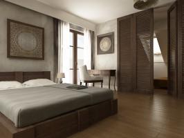 Dom jednorodzinny, Otomin - sypialnia.