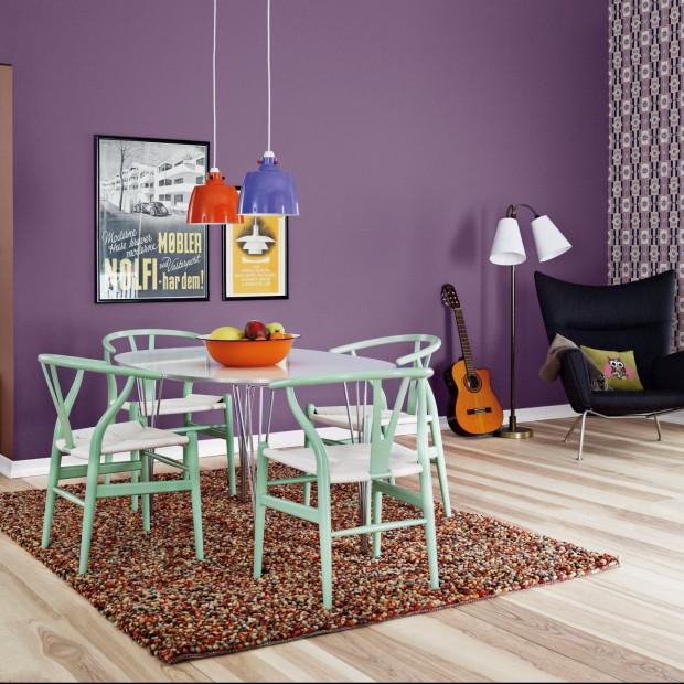 10 pomysłów na kolorową jadalnię. Wybieramy idealną farbę