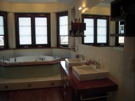 Łazienka, dom jednorodzinny.