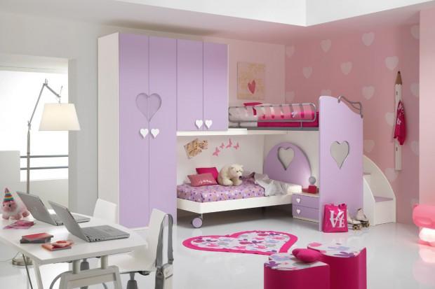 20 pomysłów na to, jak urządzić pokój dla dwóch dziewczynek