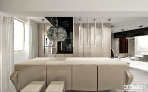 Aneks kuchenny w apartamencie.