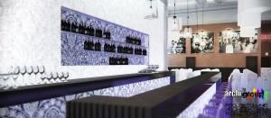 Restauracja Bytom KWK Miechowice Szyb Zachodni - bar.