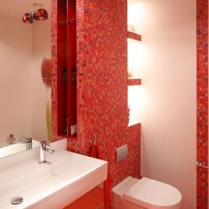 Mozaika urozmaica jednolite przestrzenie i dodaje im świeżości. Fot. Bartosz Jarosz.