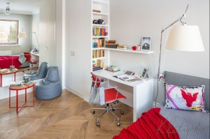 Apartament w Wilanowie - pokój dziecięcy.