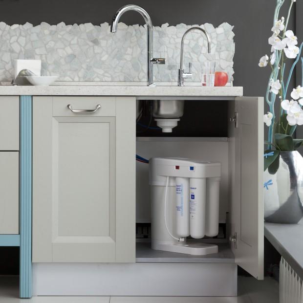 System oczyszczania wody  DWM Morion – kuchenna  stacja uzdatniania wody?