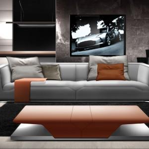 Sofa-nowość z kolekcji marki Aston Martin. Fot. Aston Martin.