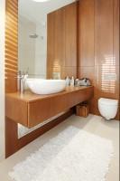 Łazienka w apartamencie.