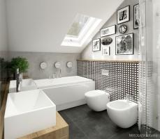 Nowoczesna łazienka 1.