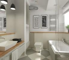 Nowoczesna łazienka 6.