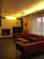 Dom w Końskich 1 - salon.