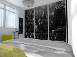 Sypialnia z widokiem.