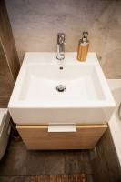 Wielki projekt małej łazienki.