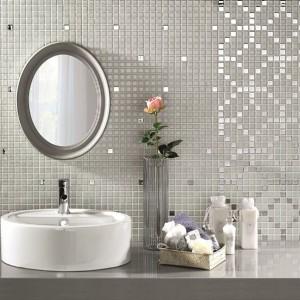Piękna mozaika z kolekcji Luxe firmy Alltoglass. Do wyboru aż piętnaście modeli. Fot. Alltoglass.