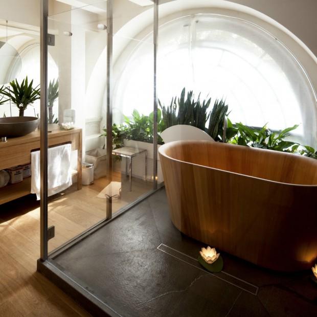 Łazienki inspirowane Japonią
