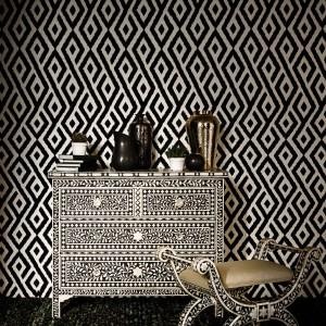 Black&white w geometrycznej formie. Fot. Marks&Spencer.