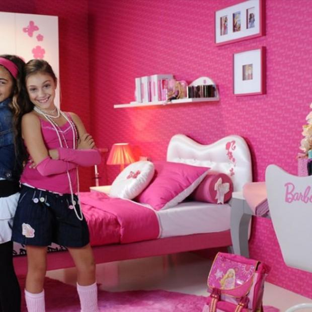Mieszkać jak lalka Barbie. Oryginalne pokoje dla dziewczynek
