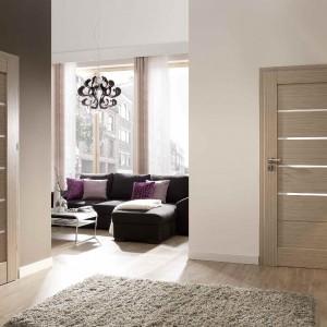 Drzwi z kolekcji Nicea Latte Centurion. Fot. Centurion.