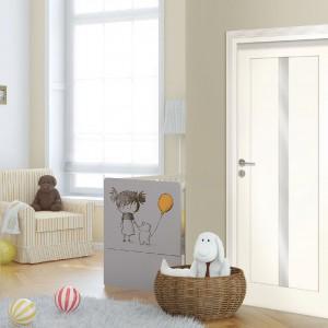 Drzwi Classic dobrze się sprawdzą chociażby w pokoju dziecięcym. Fot. Drzwi Vox.